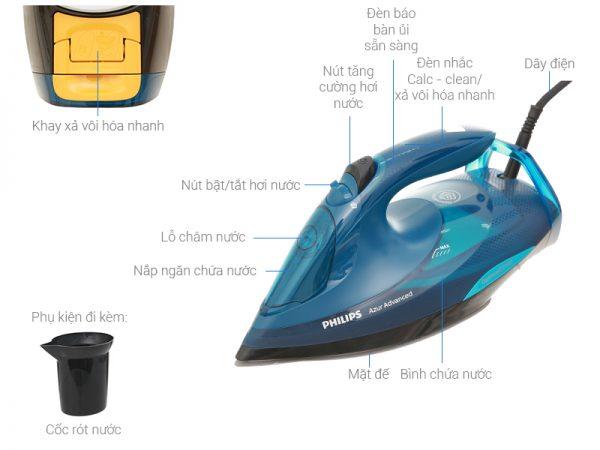 2: Bàn ủi hơi nước Philips GC4938