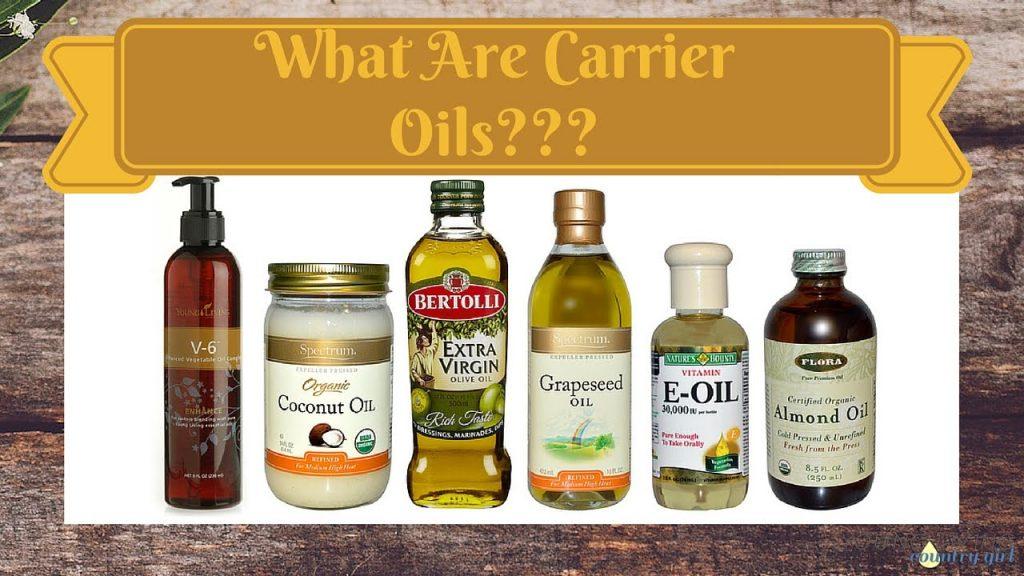 Một số loại dầu nền phổ biến nhất