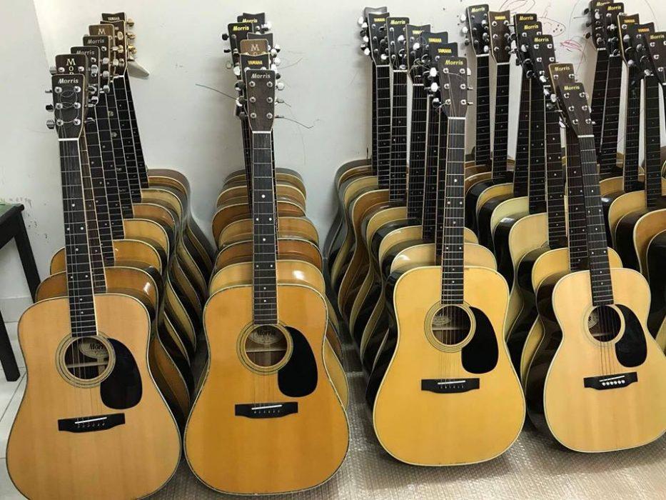 Đàn guitar nhật cũ được nhập rất nhiều về Việt Nam, nguyên nhân là vì chất lượng đồng đều và chất lượng sản phẩm rất tinh tế, hoàn hảo