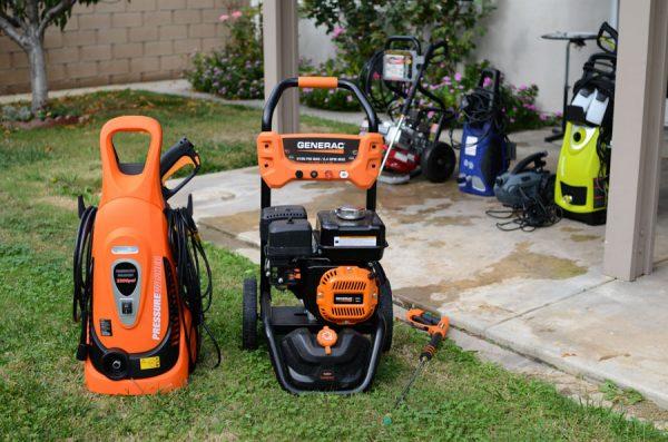 Nhiều tính năng được tích hợp trong máy bơm tăng áp rửa xe