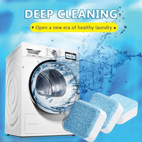 Bột vệ sinh máy giặt nào tốt?