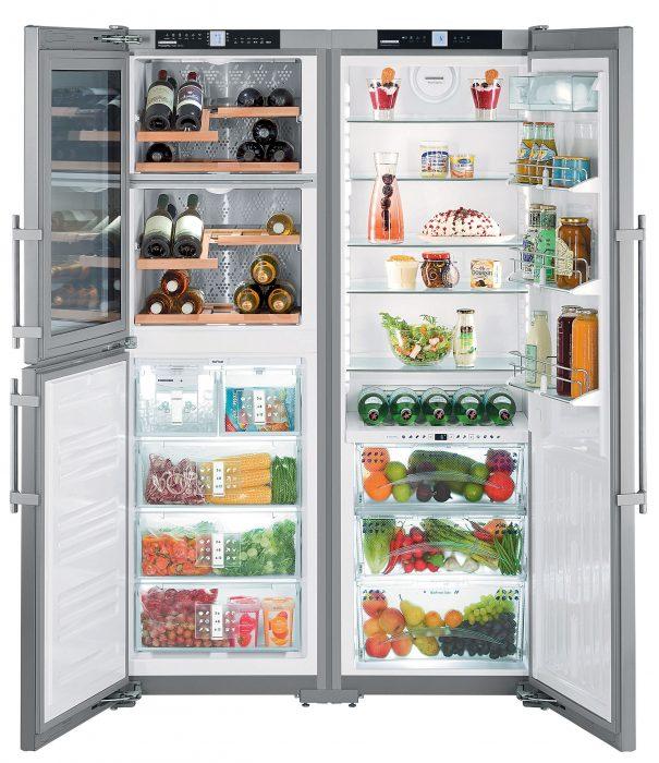 Tủ lạnh càng to càng ăn nhiều điện