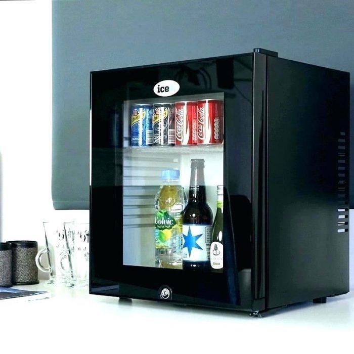 Tủ lạnh mini mặt kính