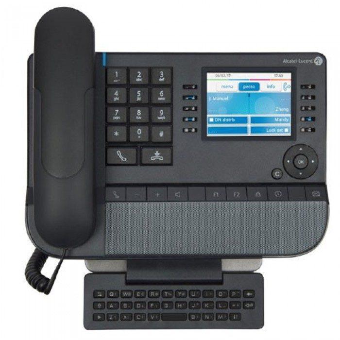 Điện thoại bàn có màn hình LCD không thua kém gì smartphone
