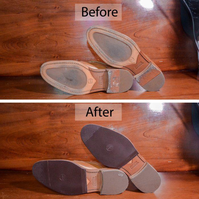 Hướng dẫn dán miếng dán đế giày