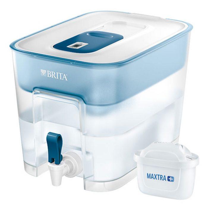 4. Bình Lọc Nước Gia Đình BRITA Flow Basic Blue – 8.2L (Kèm Maxtra Plus)