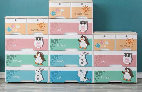 Được sản xuất từ nhựa nên các loại tủ nhựa có thiết kế và màu sắc rất đa dạng