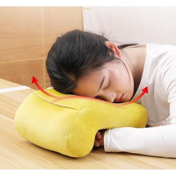 Gối ngủ đa năng có thiết kế  dạng chữ L độc đáo