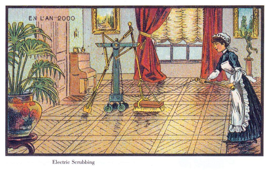 Lịch sử phát triển máy hút bụi tự động