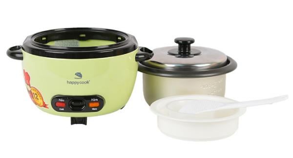 #1: Nồi Cơm Điện Mini Happy Cook HCD-061A (0.6L)