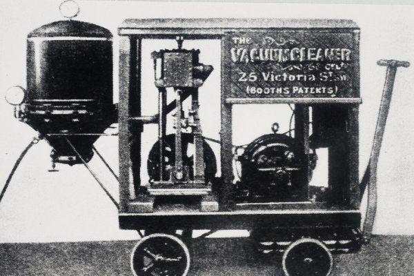 lịch sử máy hút bụi