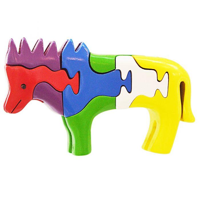 #8: Đồ Chơi Gỗ Lắp Ráp Mô Hình Puzzle 3D Tottosi Hình Sư Tử