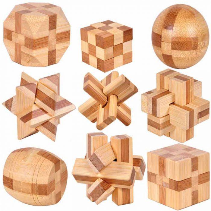 Đồ chơi lắp ráp bằng gỗ an toàn khá thú vị