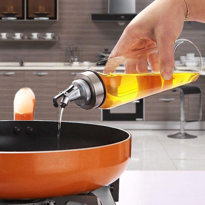 #6: Bình đựng dầu ăn thủy tinh 500ml