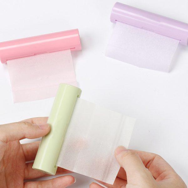 Xà phòng giấy dạng cuộn