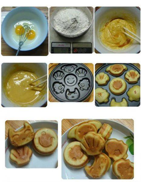 Cách sử dụng máy nướng bánh hình thú