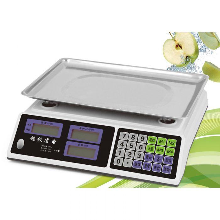 Giới hạn trọng lượng của cân điện tử
