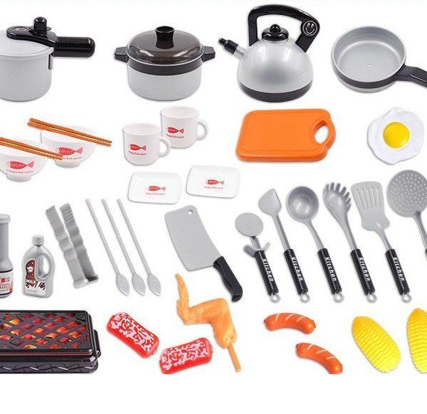 1. Bộ đồ chơi nấu ăn 36 món kèm thức ăn