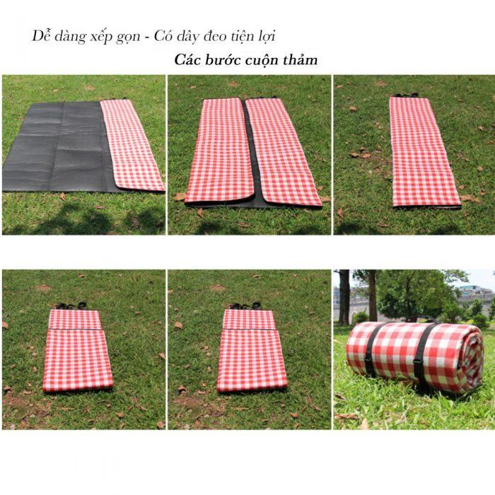 11. Thảm picnic 2 lớp chống thấm nước tốt