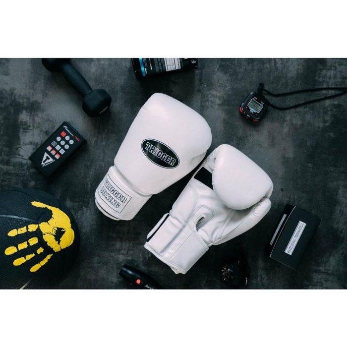 Găng tay Trigger trắng