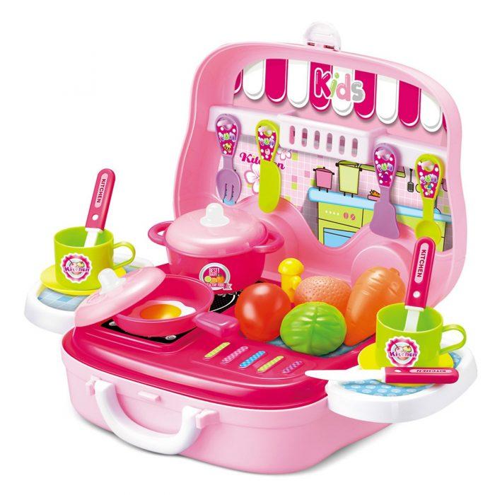 2. Đồ Chơi Nấu Ăn Hộp Vali Có Quai Xách Toyshouse