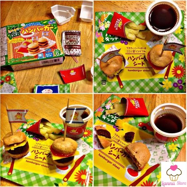 7. Đồ Chơi Nấu Ăn Tự Làm Bánh Hamburger Nhật Bản
