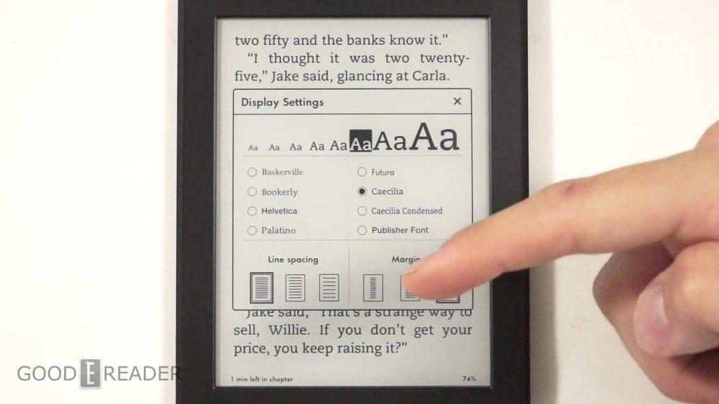 Amazon Kindle Paperwhite là chiếc máy đọc sách cơ bản và bán chạy nhất của Amazon