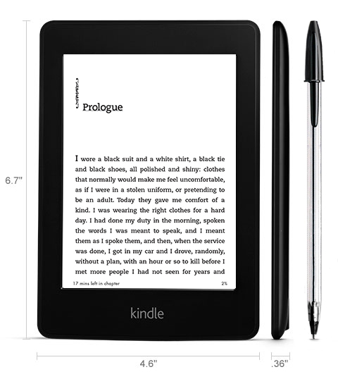 Amazon Kindle Voyage được thiết kế khá nghệ thuật, tạo cảm giác thích thú khi cầm