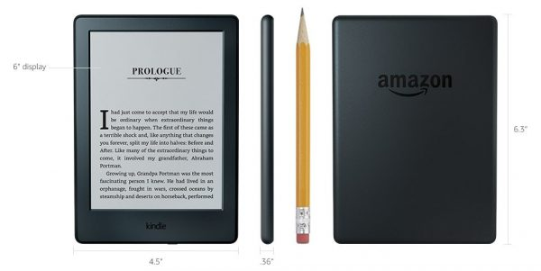 4. Amazon Kindle – Giá rẻ nhất