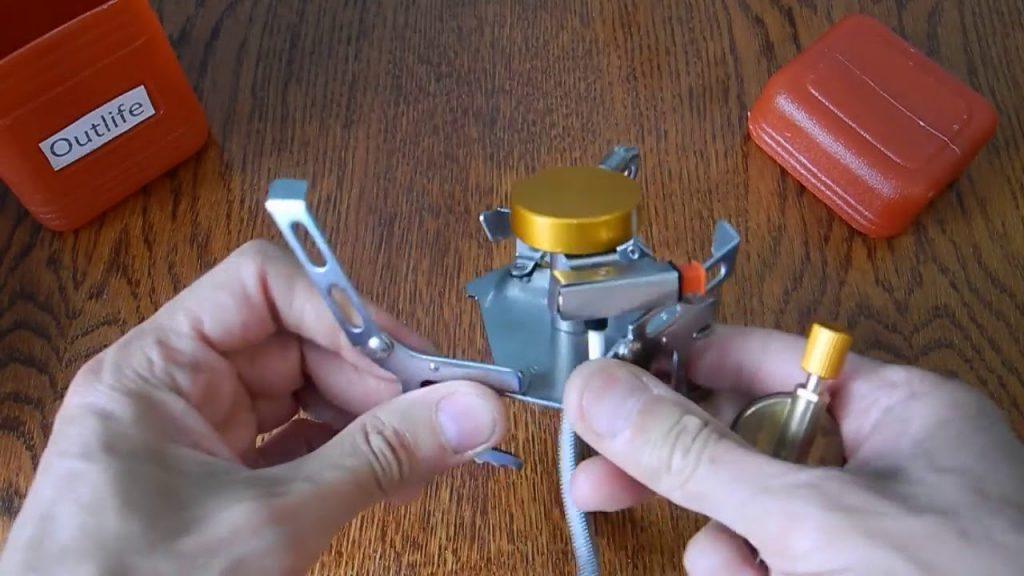 Bếp dã ngoại nhìn chung đều có cấu tạo đơn giản, có thể tháo lắp dễ dàng