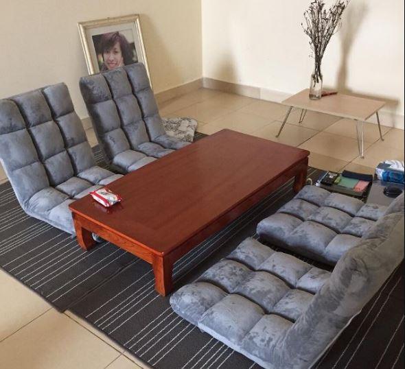 Ghế bệt tựa lưng là một sản phẩm độc đáo có nguồn gỗc từ Nhật Bản