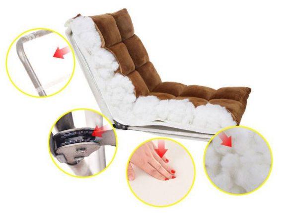 Ghế gỗ sẽ cho cảm giác chắc chắn nhưng không êm ái bằng ghế nệm