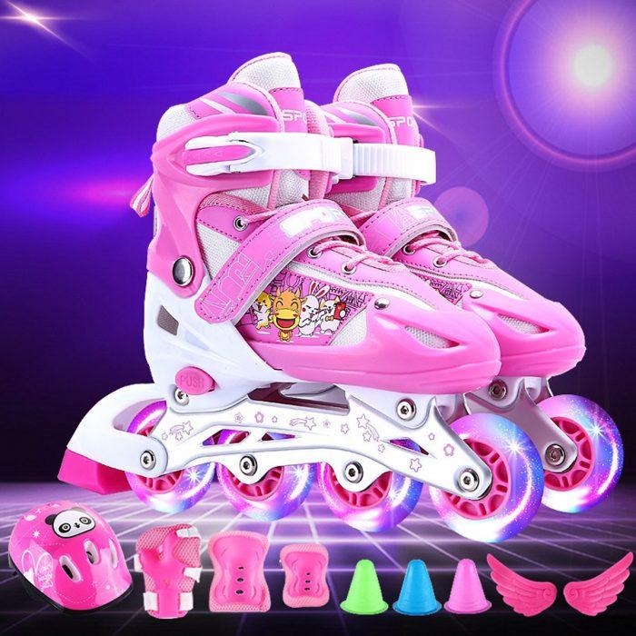 2. Giày patin trẻ em có đèn Led