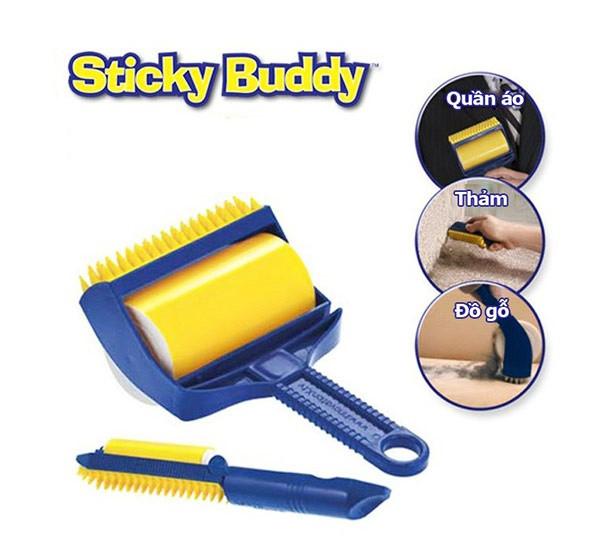 6. Cây lăn bụi quần áo đa năng Sticky Buddy