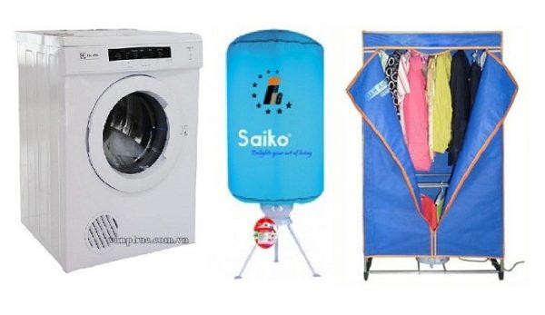 Quần áo phơi ngoài trời sẽ bị nhiễm bụi bẩn, côn trùng khi phơi. Sử dụng máy sấy để đảm bảo quần áo được sạch tinh sau khi giặt.
