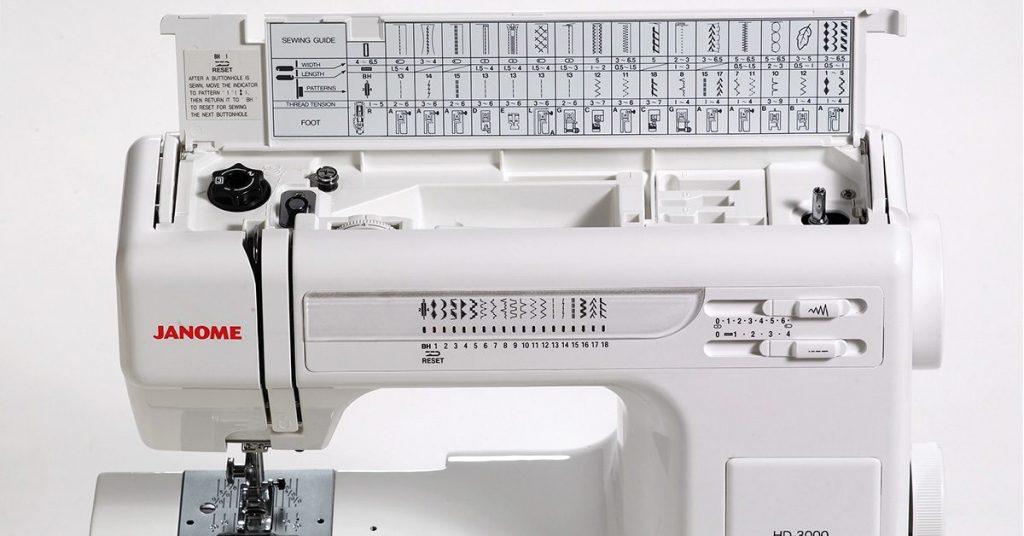 Nhiều loại máy khâu mini có thể dễ dàng điều chỉnh chiều dài và chiều rộng của mũi kim