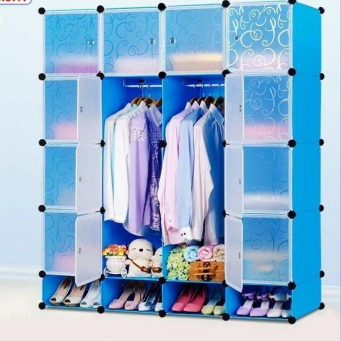 Tủ quần áo nhựa Việt Nhật rất đa dạng về mẫu mã và chất lượng