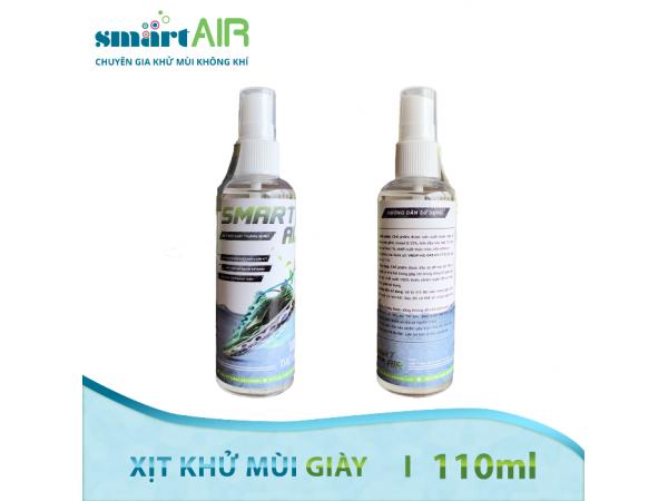 Xịt Khử mùi Giày dép Smart Air – 110ml