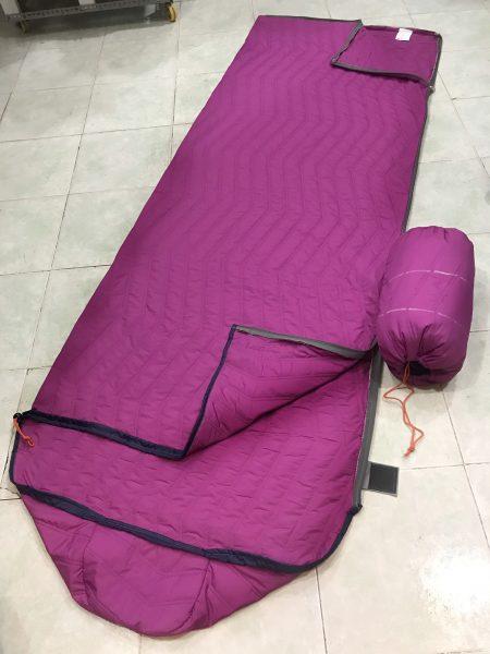 Túi ngủ văn phòng 3 lớp chần bông